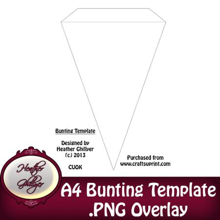 a4 bunting template cup440293 1885 craftsuprint