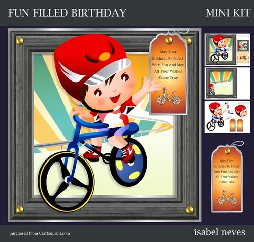 Fun Filled Birthday - CUP697631_2073 | Craftsuprint