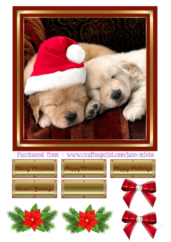 Merry Christmas Puppies.Christmas Puppies 2