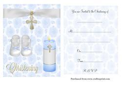christening invitation maker free download