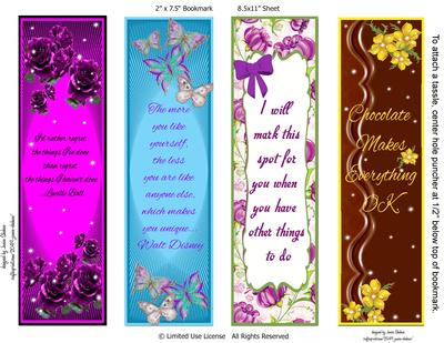Ladies Beautiful Bookmarks Cup659878 2049 Craftsuprint