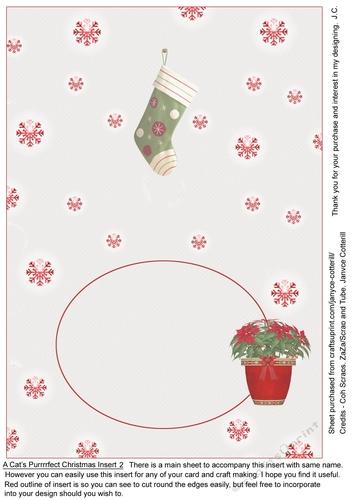 A Cats Purrrrfect Christmas Insert 2 Cup9268731035 Craftsuprint