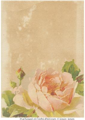 Vintage floral background paper mightylinksfo