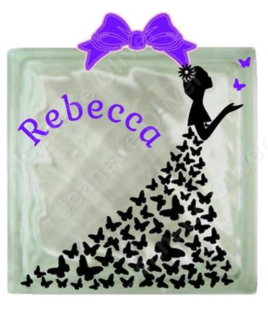 Butterfly Dress For Vinyl On Glass Blocks Cup695338 2105