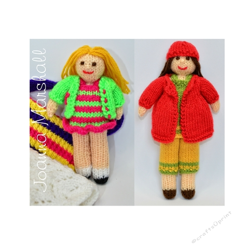 Rag Dolls Knitting Pattern Cup7737691712 Craftsuprint