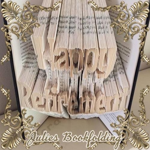Retired Book folding pattern
