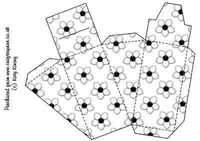 Daisy Dots Cake Slice Box - CUP79545_572 | Craftsuprint