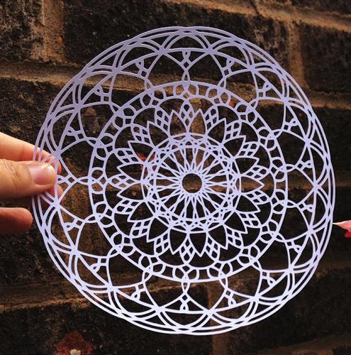 Mandala Doily Svg Cutting Template New Design No 3