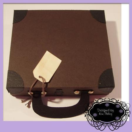 Briefcase Vintage Suitcase Gift Box Cup691327 1307