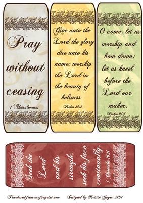 Bible Verse Bookmarks Cup225133 63 Craftsuprint