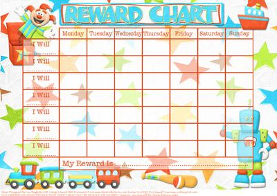 Terrific Toys Child S Reward Chart Cup170825 614