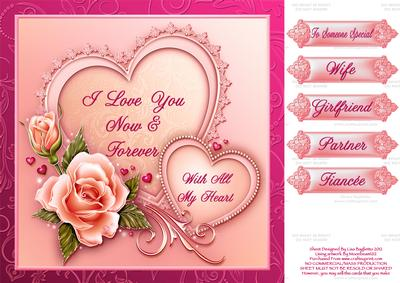Valentines Romance Gallery – Valentine Cards for Wife