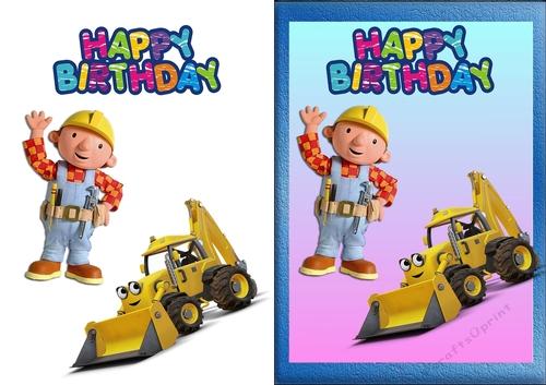 Bob The Builder Birthday Card - CUP813549_83674
