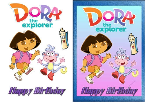 Dora the Explorer Birthday Card - CUP813843_83674 ...