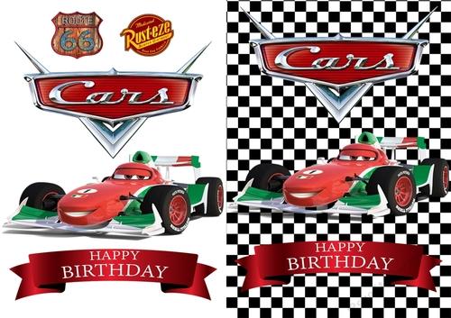 Cars Francesco Birthday Card Cup81554183674 Craftsuprint