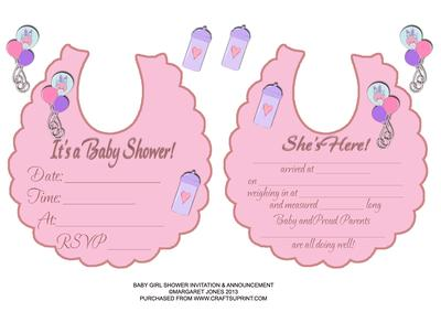 Baby girl shower invitation birth announcement cup394723601 baby girl shower invitation birth announcement cup394723601 craftsuprint yadclub Images