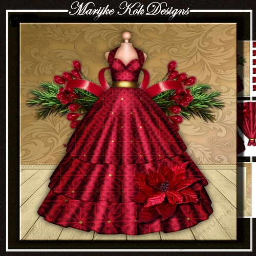 Christmas Evening Dresses.Christmas Evening Dress Mini Kit