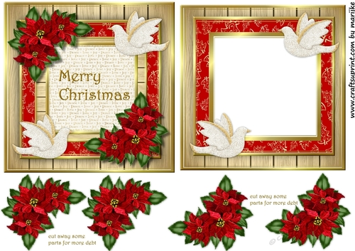 christmas card  insert dove  cup922311936  craftsuprint