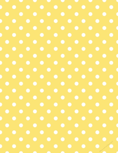 e6788ce8f46 White Dot Pattern on Bright Yellow A4 Paper Background {BC} -  CUP733999_70864 | Craftsuprint