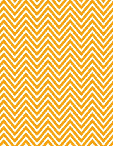 Orange White Chevron Zig Zag Pattern A4 Digital Paper Background Cup734273 70864 Craftsuprint
