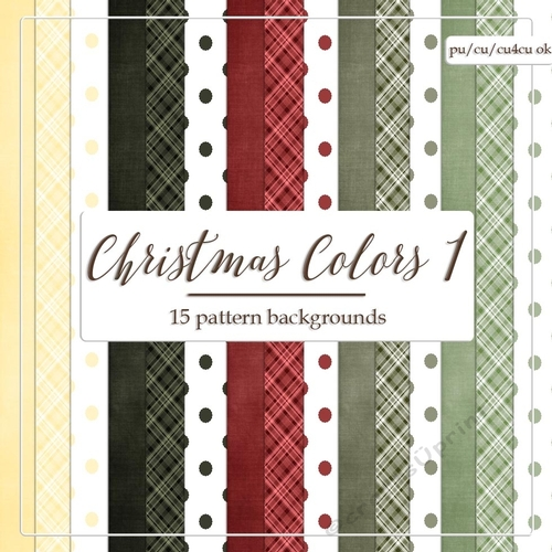 Christmas Colors.Christmas Colors 1 A4 Digital Paper Backgrounds Polka Dots Plaid Cardstock