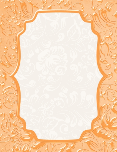 beautiful peach color floral swirl pattern card base background cup891063 70864 craftsuprint beautiful peach color floral swirl pattern card base background