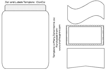 jar labels template cu4cu cup344919 99 craftsuprint