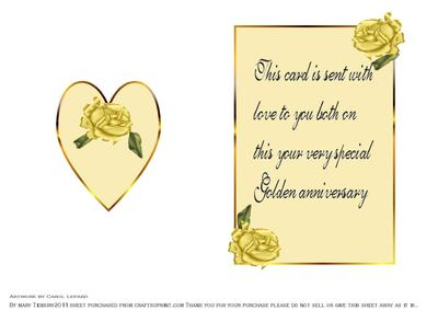 verses for 50th wedding anniversary cards