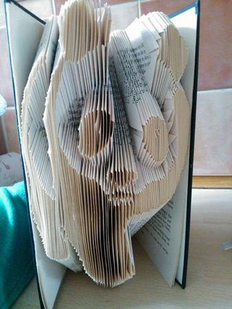 Book Folding Pattern of a Panda. - CUP613991_2229 ...