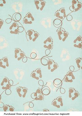Baby Boy Background Sheet Cup378625 958 Craftsuprint