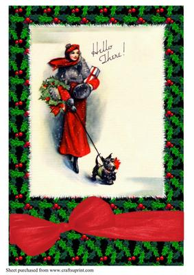 Scottie Dog Christmas Cards
