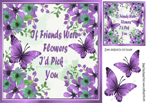 Pretty Purple Flowers And Purple Butterflies I Would Pick For A