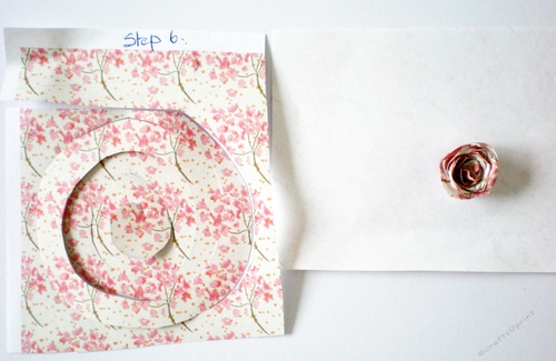 Tutorial for making tiny paper roses cup82150921027 craftsuprint mightylinksfo