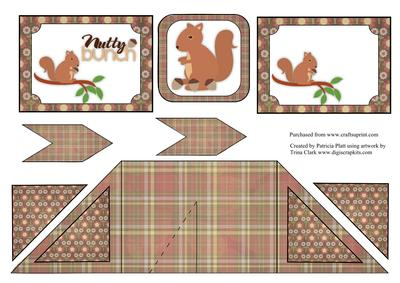Criss cross pocket nutty squirrel card cup308527 1416 for Cross in my pocket craft