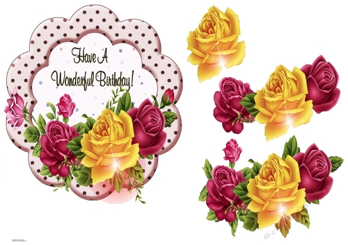 Flower Beauty Painted Bouquets and Fruits Decoupage Sheets Craftreat Mixed Fruit Floral Decoupage Paper for Crafting Size: A4 Fruit Pack Flower Art Decoupage Paper Pack Flower Bouquet 8 Pcs
