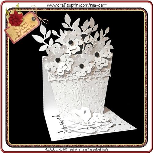 800 Flower Pot Easel