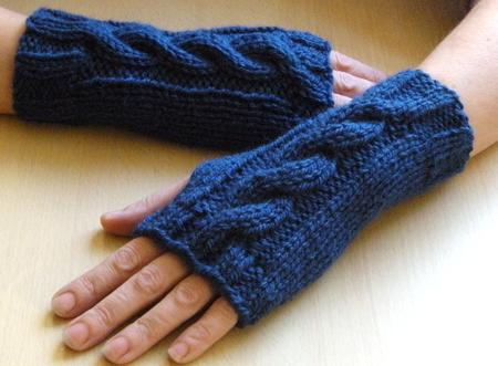 Chunky Cable Knit Wrist Warmers Cup3044271665 Craftsuprint