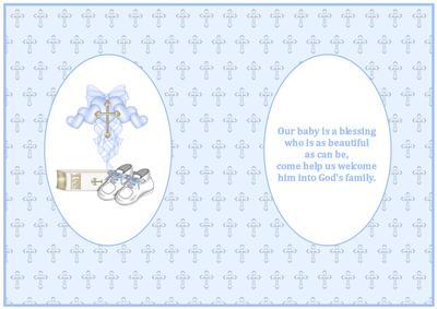 Baby Boy Christening Insert 2 Cup207819 719 Craftsuprint