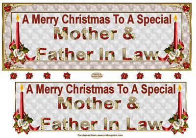 mother father in law dl christmas card front cup487379_719 craftsuprint - What To Get Father In Law For Christmas
