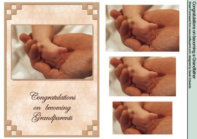 congratulations on becoming grandparents cup76250 172 craftsuprint