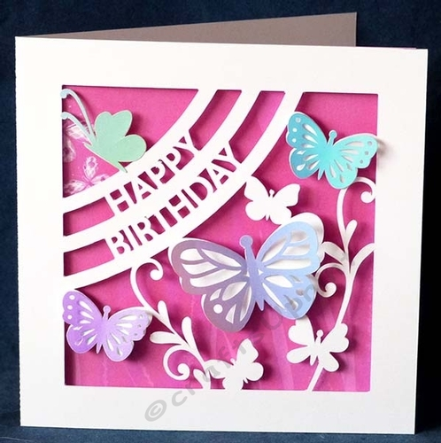 Butterfly Birthday Card - CUP886380_40382