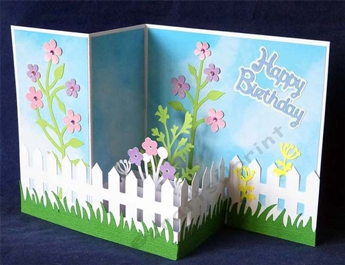 Amazon.com: Tulip - 3D Flower Pop Up Greeting Card for All ... | 384x500