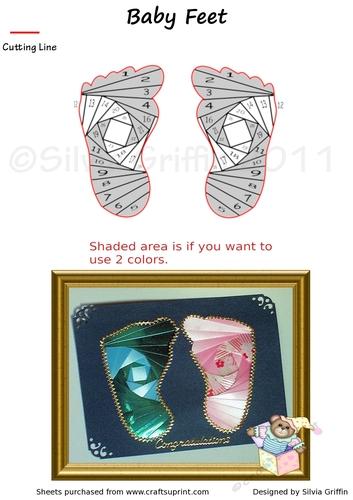 Baby Feet Cup31890 262 Craftsuprint
