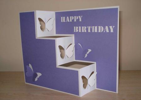fold birthday card