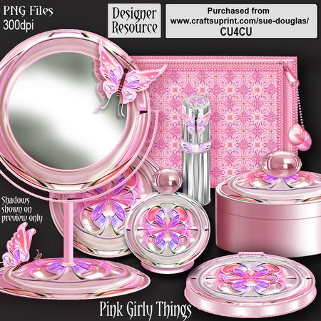 Designer Resource Pink Girly Things Cup246061 422