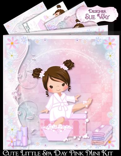 Cute Little Spa Day Pink Mini Kit - CUP884604 38  6d8d270f1