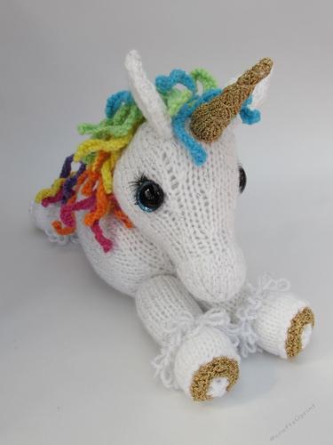 Unicorn Toy Knitting Pattern - CUP787673_75098 | Craftsuprint