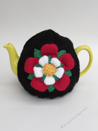 Tudor Rose Tea Cosy Knitting Pattern Cup80120775098 Craftsuprint