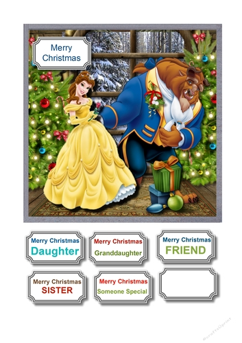 Beauty And The Beast Christmas.Beauty And The Beast Christmas
