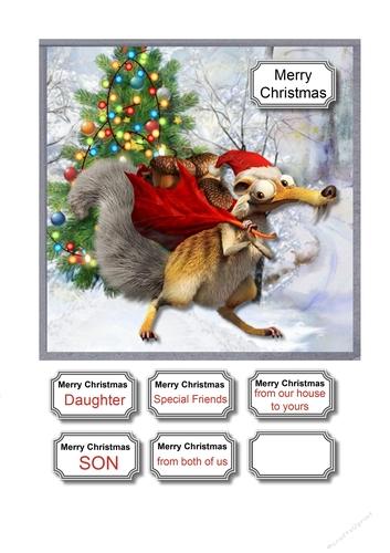 Christmas Sloth.Christmas Sloth